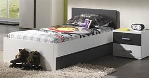 Kinderbett 90x200 Auto : kinderbett linde 90x200 cm in wei mdf kaufen bei m bel lux ~ Whattoseeinmadrid.com Haus und Dekorationen