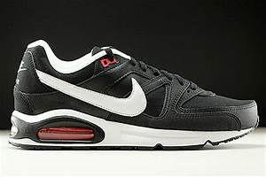 nike AIR MAX COMMAND LEATHER BLACKWHITE ACTION RED bei