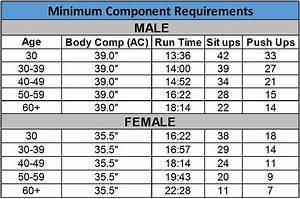 Air Force Fitness Standards Female Under 30 Blog Dandk