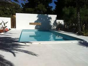 Beton Ciré Piscine : terrasse piscine en beton cire deco maison canohes pinterest ~ Melissatoandfro.com Idées de Décoration