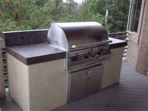 bbq kitchen designs outdoor kitchens colorado springs built in barbecue 1516