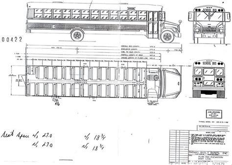 School Bu Dimension Diagram by Interior Dimensions Of A School Search