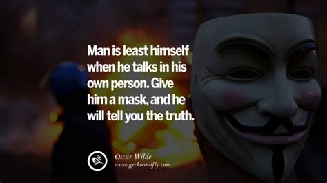 quotes  wearing  mask lying  hiding oneself