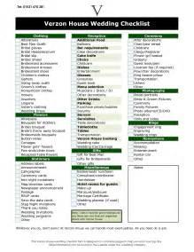 wedding decoration checklist 6 best images of wedding reception checklist printable free printable wedding checklist