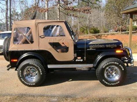 jeep golden eagle interior golden eagle edition 1978 jeep cj5 v8 bring a trailer