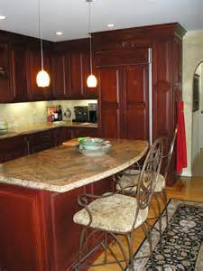 Stationary Kitchen Islands with Seating