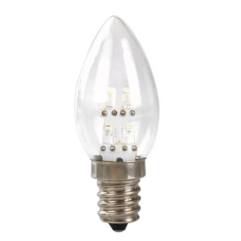 mini e12 led 0 5w candle light bulb l dc 220v 80lm