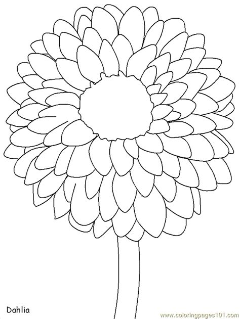 Coloring Flower by Flower Coloring Pages Sws Coloring Page Free Flowers