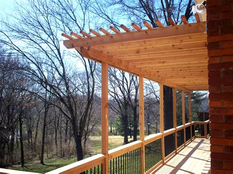 cedar decking st louis decks screened porches