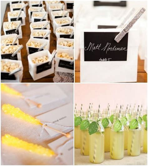 escort place cards ideas food drink cocktail
