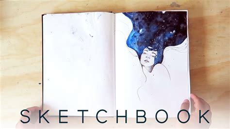 watercolor sketchbook youtube