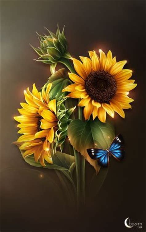 moonbeams bright yellow sunflowers moonbeam