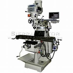 Item  9 U0026quot  X 49 U0026quot  Manual Variable Speed Milling Machine