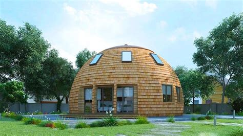 gorgeous russian dome home   future withstands massive snow loads skydome house inhabitat