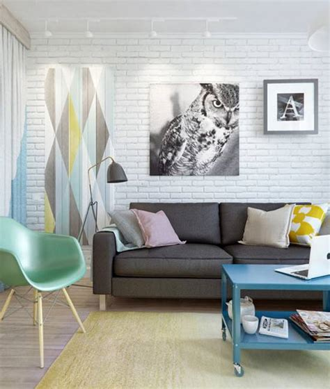 apartment decorating idea living room wall decoration with