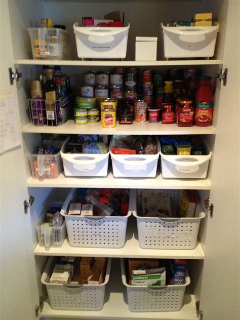 How To Organise A Pantry Cupboard organising a kitchen pantry with shelves