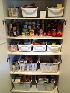 Organising a kitchen pantry with deep shelves kitchen for Organizing kitchen pantry with deep shelves