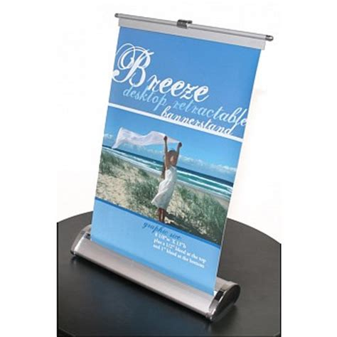 breeze  tabletop banner stand banner stands trade show
