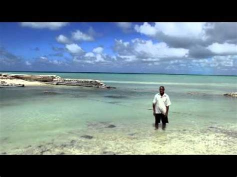 sinking islands in the pacific of kiribati