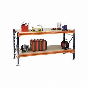 Etabli D Atelier : etabli d 39 atelier 510kg 1000 x 1850 x 800 mm equiprayonnage ~ Edinachiropracticcenter.com Idées de Décoration