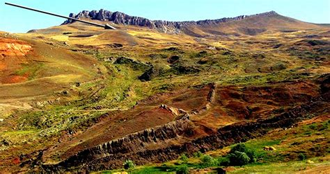 Evidence That Noah's Ark Landed On A Mountain 17 Miles