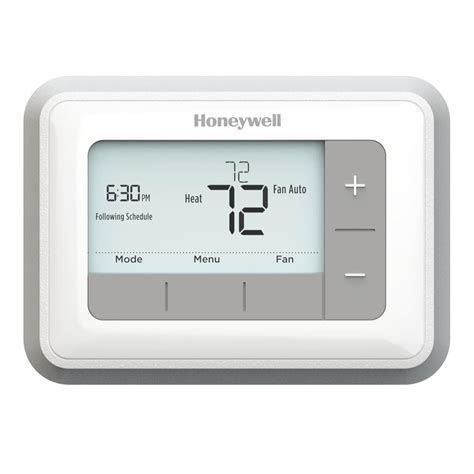 Honeywell Day Programmable Thermostat Rthe The