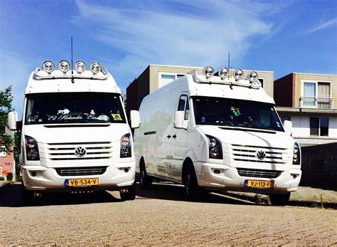 vw crafter tuning quot busiarze quot występują też w holandii firma krj transport i jej dwa piękne craftery na trasach