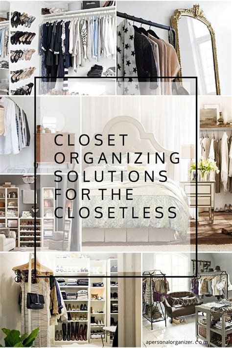 Solutions For Rooms Without Closets by 25 Best Ideas About No Closet Solutions On No