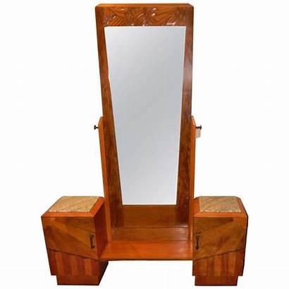 Deco French Furniture Bedroom Vanity Carved Wood