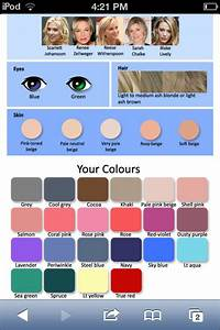 Hair Colors For Your Skin Tone Chart Find Your Season This Is Mine Lookup What 39 S My Skin