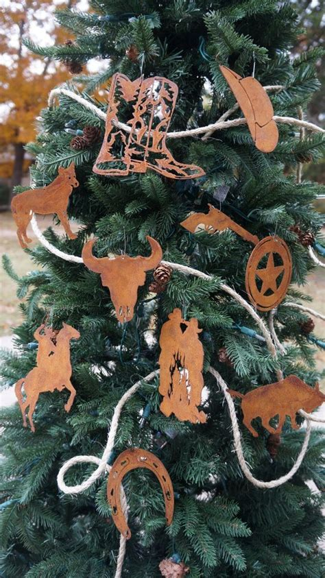 17 best ideas about western christmas decorations on