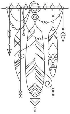 Talisman - Draping Feathers_image | Drawing Inspiration and Lessons | Drawings, Feather tattoos