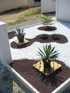 exemple de parterre de fleurs top 8 des fleurs gantes With ordinary idee deco jardin avec cailloux 8 parterre de fleur avec cailloux obasinc
