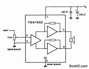 smgle chip audio amplifier btl mono 1 w 2 w amplifier With 22w mono amplifier circuit diagram