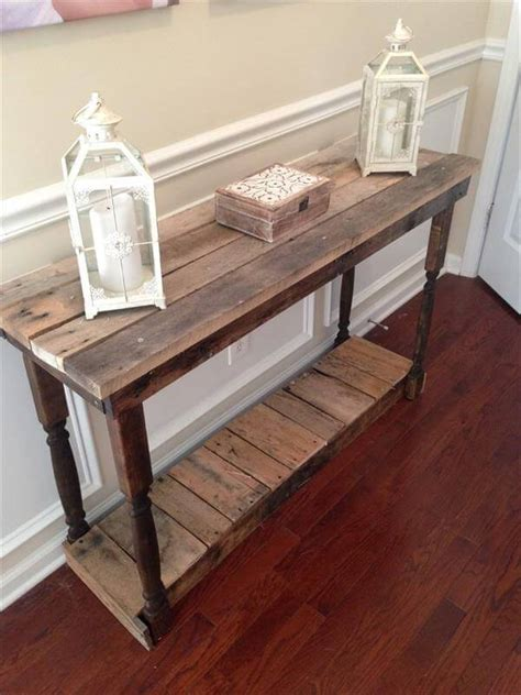 build diy diy hallway table plans  plans wooden table