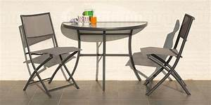 Table Balcon Pliante : table demi lune pliante ~ Teatrodelosmanantiales.com Idées de Décoration