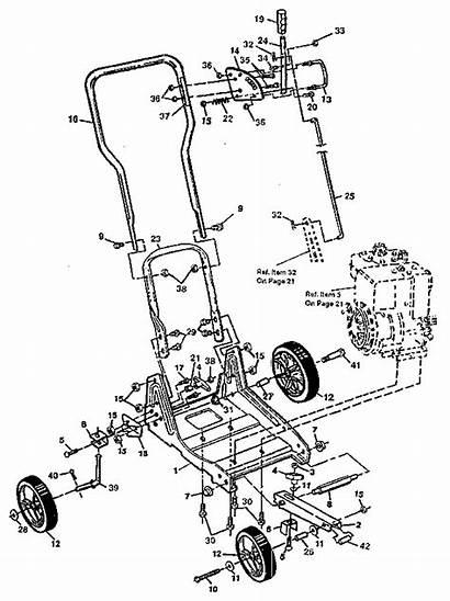 Craftsman Parts Edger Diagram Frame Sears Main