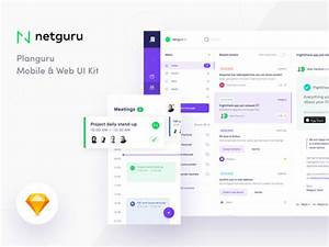 Planguru Free UI Kit For Event And Planning Apps