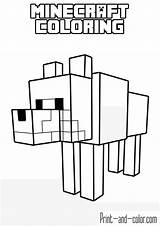 Minecraft Coloring Pages Boys sketch template