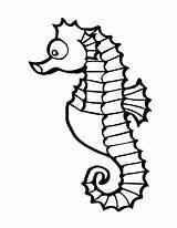 Coloring Fish Tropical Clipart Marine Printable Ocean Sea Colouring Clip Sheet Printables sketch template