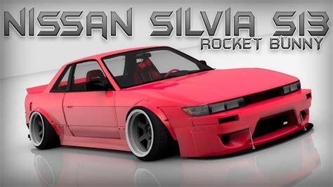 nissan silvia rocket bunny nissan silvia s13 rocket bunny ry3d youtube