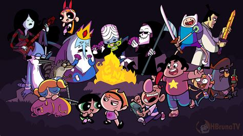 See the best 4k wallpapers free download collection. Cartoon Network Crossovers from the Child/Adulthood ...