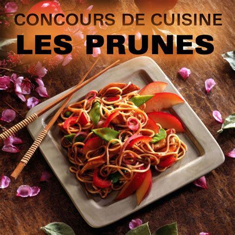 gagnants du concours cuisine sur les prunes jeux concours plurielles fr