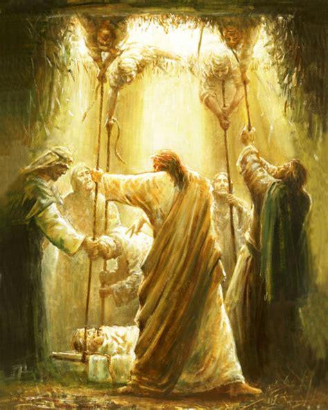 jesus heals  paralyzed man christorg