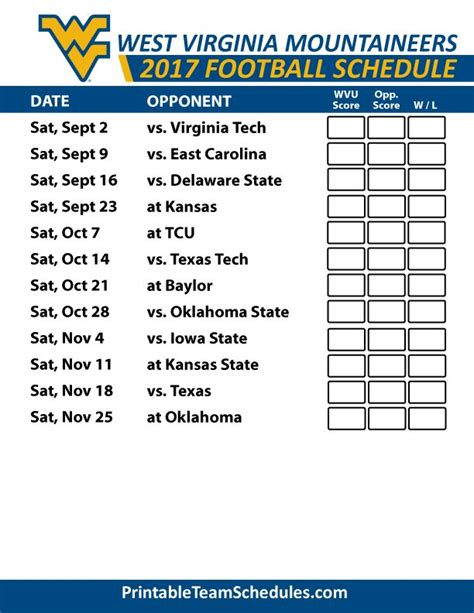 best 25 wvu schedule ideas that you will like on