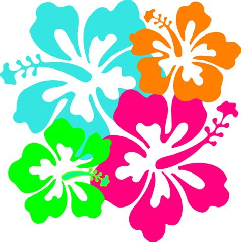 Hibiscus Clipart - Clipart Bay