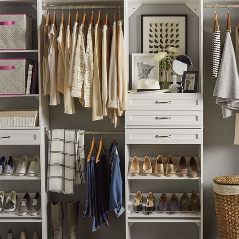 closetmaid suitesymphony   closet system