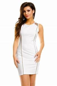 robe de soiree robe de cocktail chic blanche robe courte With robe de soirée chic courte