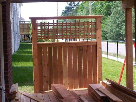 maloney deck and fence privacy wall privacy