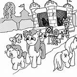 Bouncy sketch template